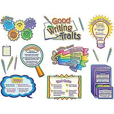Teacher Created Resources® Bulletin Board Display Set, Good Writing Traits