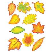 "Teacher Created Resources TCR4419 6"" DieCut Fall Leaves Accents, Multicolor"
