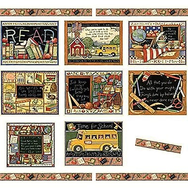 Teacher Created Resources® Bulletin Board Set, Susan Winget School Time