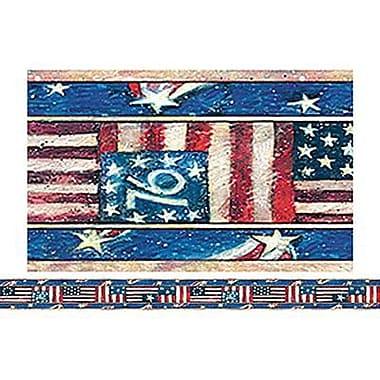 Teacher Created Resources® Infant - 12th Grades Straight Bulletin Board Border Trim, Patriotic