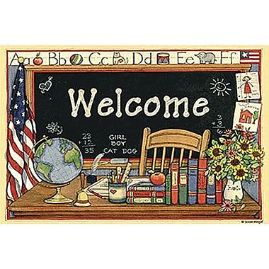 Teacher Created Resources® Susan Winget Welcome Postcard