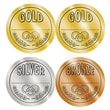 Teacher Created Resources® Medals Wear 'Em Badges, Gold, Silver, Bronze