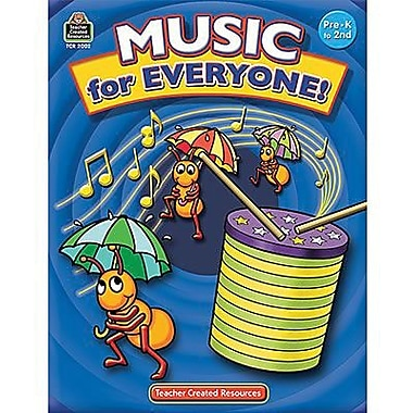 Teacher Created Resources® ™ 64 Pages Music For Everyone Book