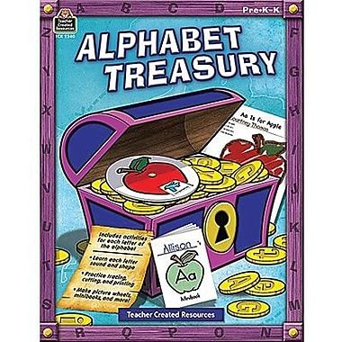 Teacher Created Resources® Alphabet Treasury Book, Grades preschool - Kindergarten