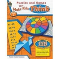 Teacher Created Resources® Puzzles and Games Make Kids Think Classic Game Book, Grades 4th