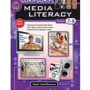 Teacher Created Resources® Media Literacy, Grades 7th - 8th
