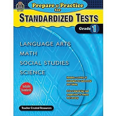 Teacher Created Resources® Prepare and Practice For Standardized Tests Book, Grades 1st