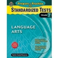 Teacher Created Resources® Prepare & Practice For Language Arts Standardized Tests Book, Grades 7th