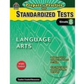 Teacher Created Resources® Prepare & Practice For Standardized Tests Book(Language Art), Grades 8th