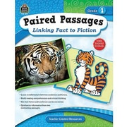 Teacher Created Resources® Paired Passages Linking Fact To Fiction Book, Grades 1st