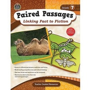 Teacher Created Resources® Paired Passages Linking Fact To Fiction Book, Grades 7th