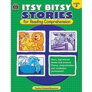Teacher Created Resources® Itsy Bitsy Stories Book For Reading Comprehension, Grades 2nd