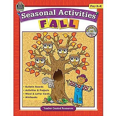 Teacher Created Resources® Seasonal Activities Book, Fall