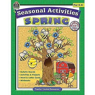 Teacher Created Resources® Seasonal Activities Book, Spring