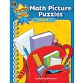 Teacher Created Resources® Math Picture Puzzles Book, Grades 1st