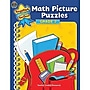 Teacher Created Resources Math Picture Puzzles Book, Grades