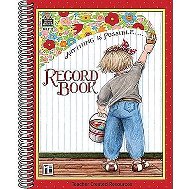 Teacher Created Resources® Anything Is Possible Record Book From Mary Engelbreit, Grades P-12th