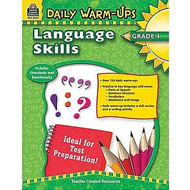 Teacher Created Resources® Language Skills Book, Grades 4th