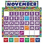 Teacher Created Resources Bulletin Board Set, Abstract Calendar