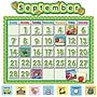 Teacher Created Resources School Calendar Bulletin Board, Polka
