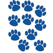 Teacher Created Resources® Toddler - 12th Grades Accents, Blue Paw Prints, 30/Pack
