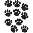 Teacher Created Resources® Grades Toddler - 12th Accents, Black Paw Prints
