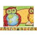 Teacher Created Resources® pre-school - 12th Grades Straight Bulletin Board Border Trim, Owl