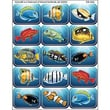 Teacher Created Resources® Jumbo Stickers, Colorful Fish
