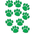 Teacher Created Resources® Toddler - 12th Grades Accents, Green Paw Prints