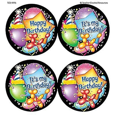 Teacher Created Resources® Happy Birthday Wear 'Em Badge