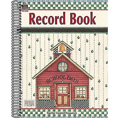Teacher Created Resources® Record Book From Debbie Mumm, Grades Kindergarten - 8th