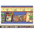 Teacher Created Resources® pre-school - 12th Grades Straight Bulletin Board Border Trim, School Time