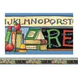 """Teacher Created Resources TCR4598 35"""" x 3"""" Straight Read Border Trim from Susan Winget, Multicolor"""