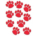 Teacher Created Resources® Accents, Red Paw Prints, 30/Pack
