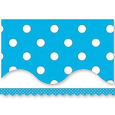 Teacher Created Resources® P-12th Grades Scalloped Bulletin Board Border Trims