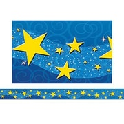 Teacher Created Resources® pre-school-12th Grades Straight Bulletin Board Border Trim, Starry Night