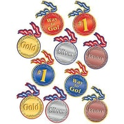 "Teacher Created Resources TCR4882 6"" DieCut Medals Accents, Multicolor"