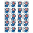 Teacher Created Resources® Stickers, Blue Ribbon