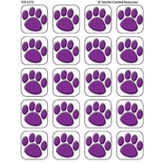 Teacher Created Resources® Stickers, Purple Paw Prints