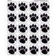 Teacher Created Resources® Stickers, Black Paw Prints