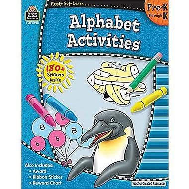 Teacher Created Resources® Ready - Set - Learn, Alphabet Activities Book