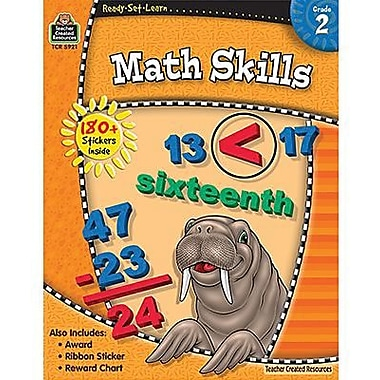 Teacher Created Resources® Ready - Set - Learn, Math Skills Book, Grades 2nd