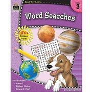 Teacher Created Resources® Ready - Set - Learn, Word Searches Book