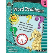 Teacher Created Resources® Ready-Set-Learn Series Word Problems Book, Grades 3rd