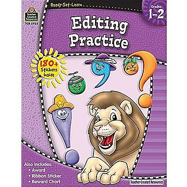 Teacher Created Resources® Ready - Set - Learn, Editing Practice Book