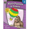 Teacher Created Resources® Ready -Set -Learn, Math Puzzles and Games Book, Grades 2nd