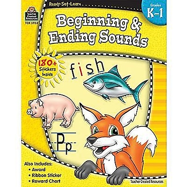 Teacher Created Resources® Ready - Set - Learn, Beginning and Ending Sounds Book