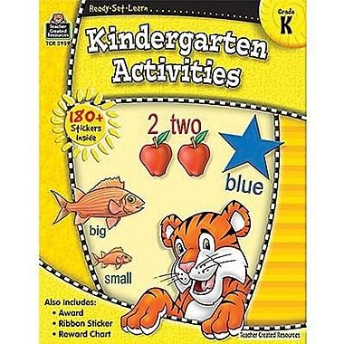 Teacher Created Resources® Ready - Set - Learn, Kindergarten Activities Book