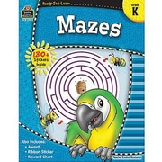 Teacher Created Resources® Ready -Set -Learn, Mazes Book, Kindergarten