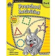Teacher Created Resources® Ready -Set -Learn, Pre School Activities Book